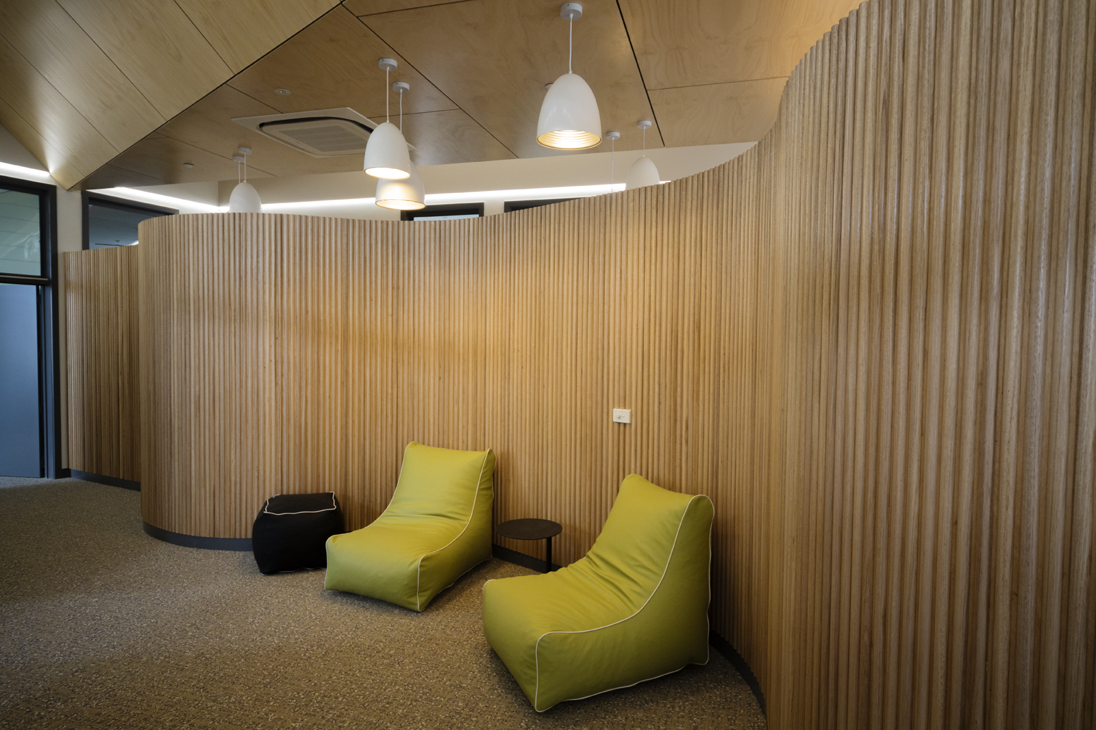 Hope Street's First Respomse Youth Refuge in Melton Using Plyco's Hoop Pine Plywood