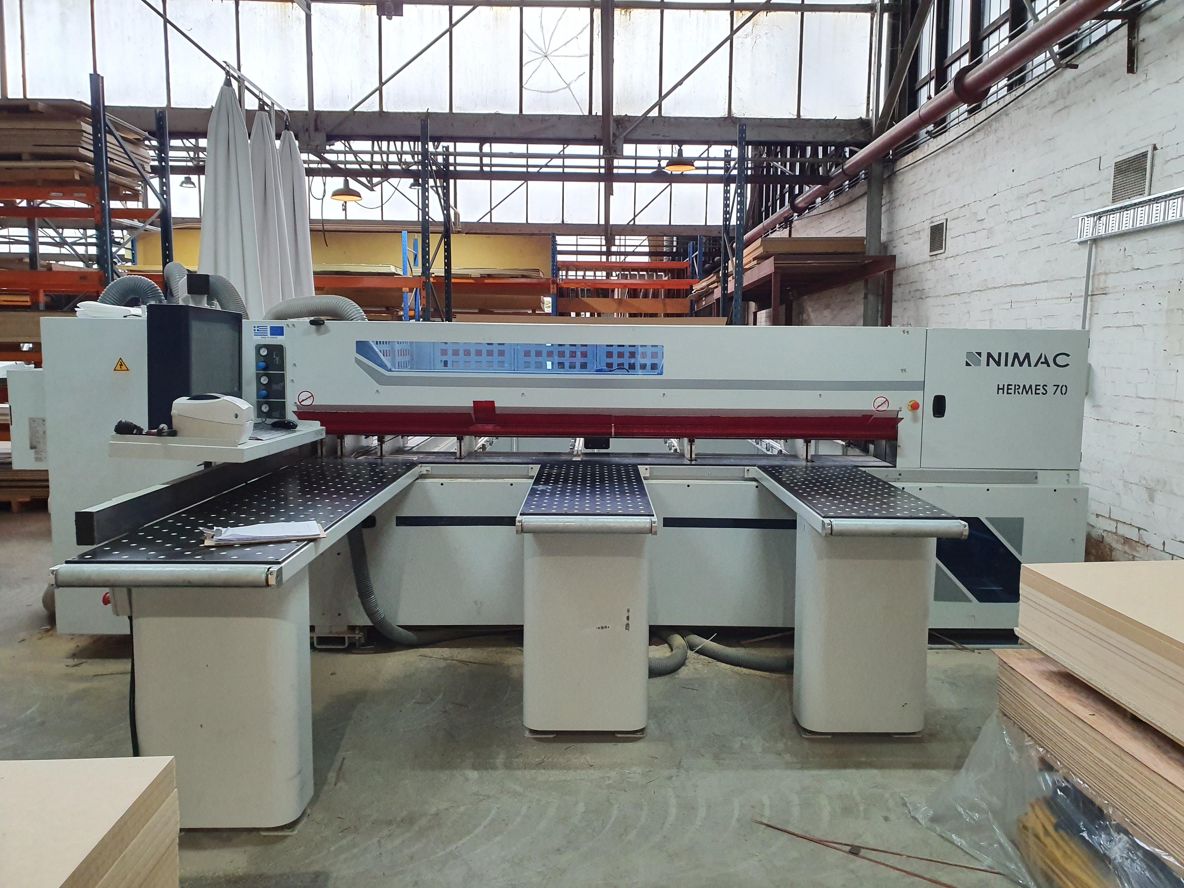 Plyco's NIMAC Hermes 70 CNC machine