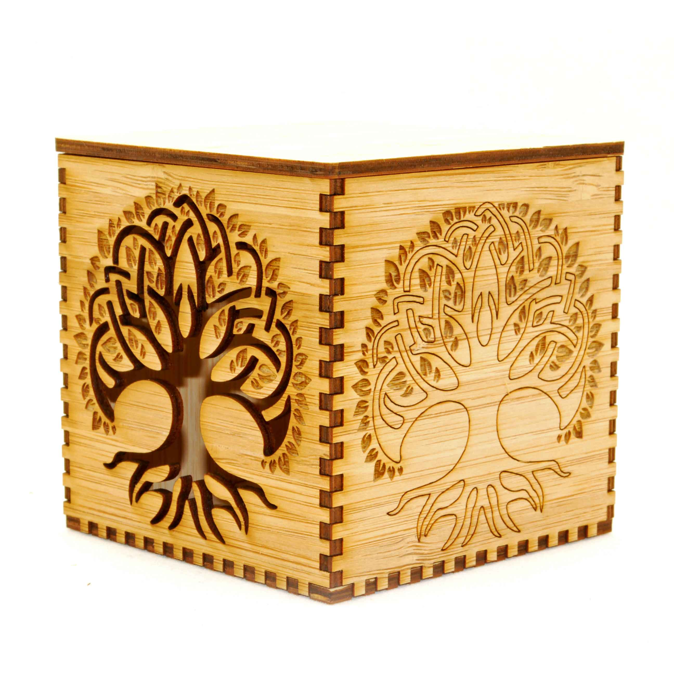 bamboo plywood book laser cutting
