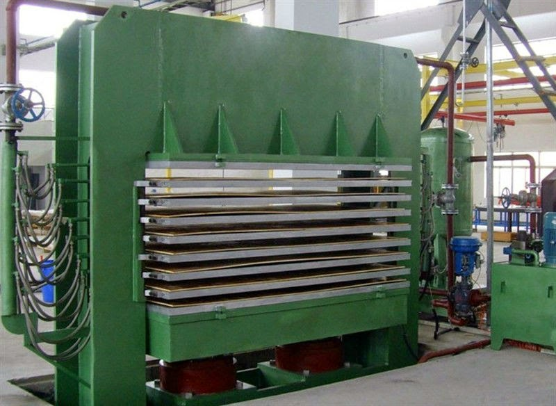 Particle Board Heating Press