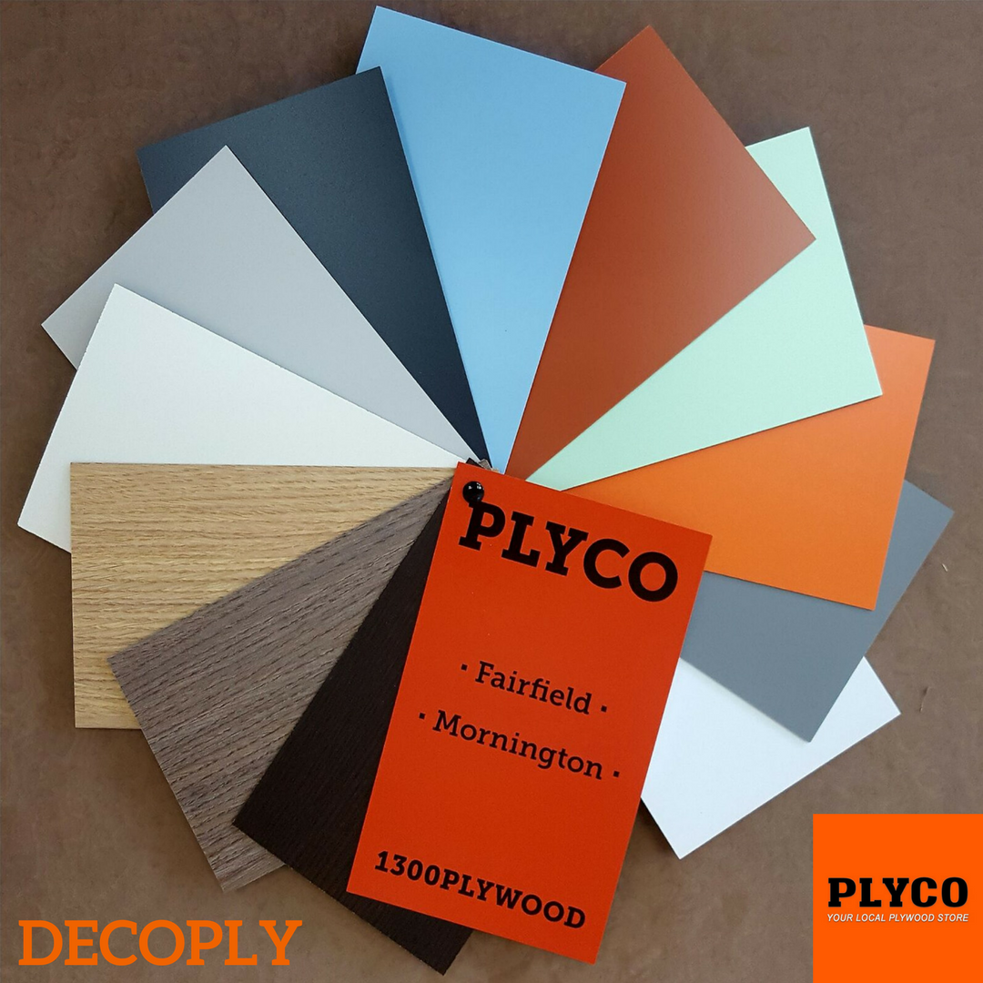 Plyco's Range of Decoply Plywood