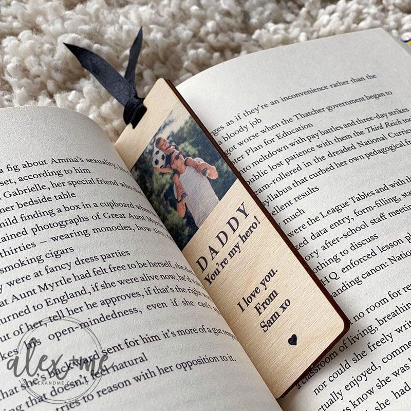 Laser Plywood Bookmark