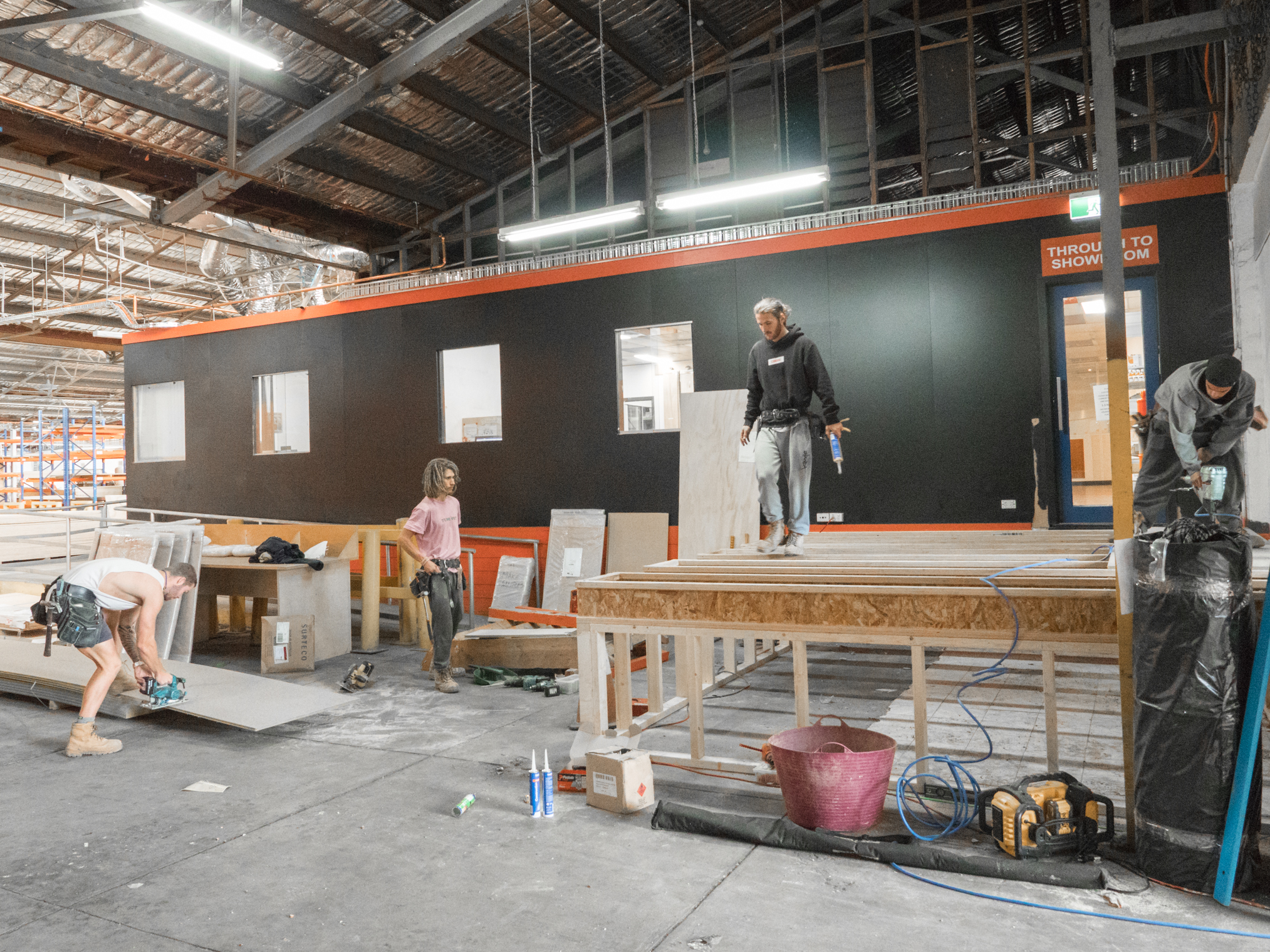 plyco's new plywood showroom in fairfield