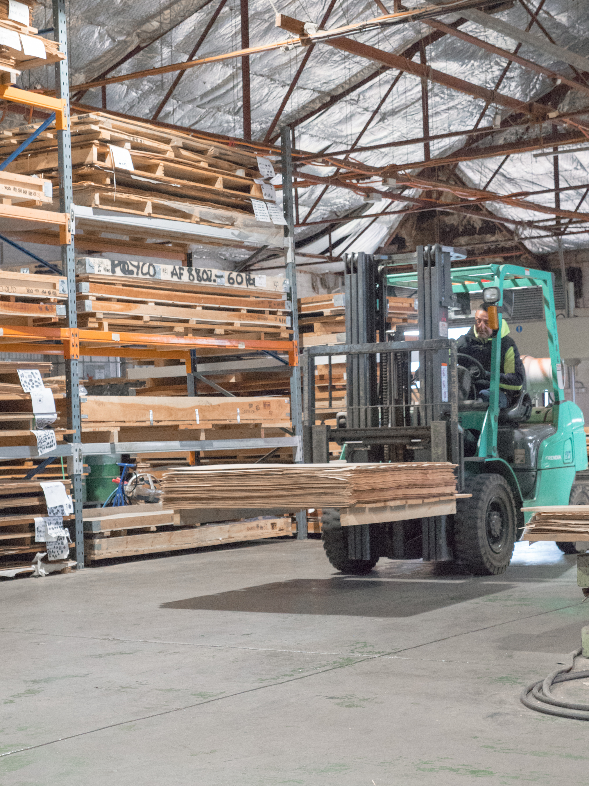 Plyco plywood forklift