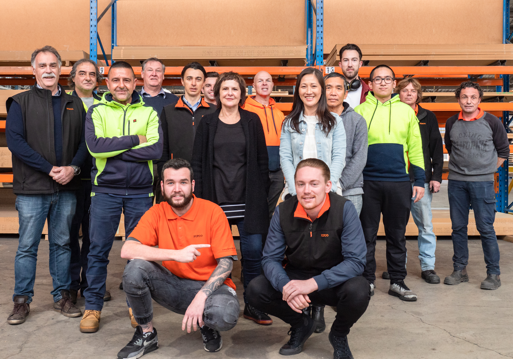The team at Plyco Fairfield