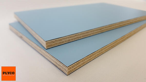 Plyco's Sky Blue Decoply Laminate