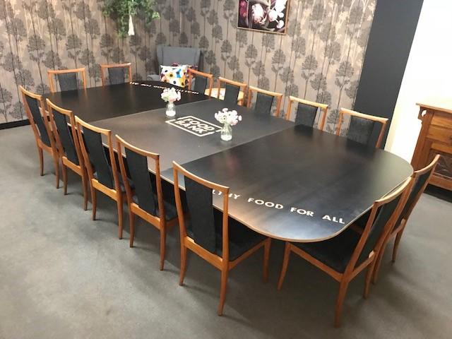 FabsArt Food Bank Table