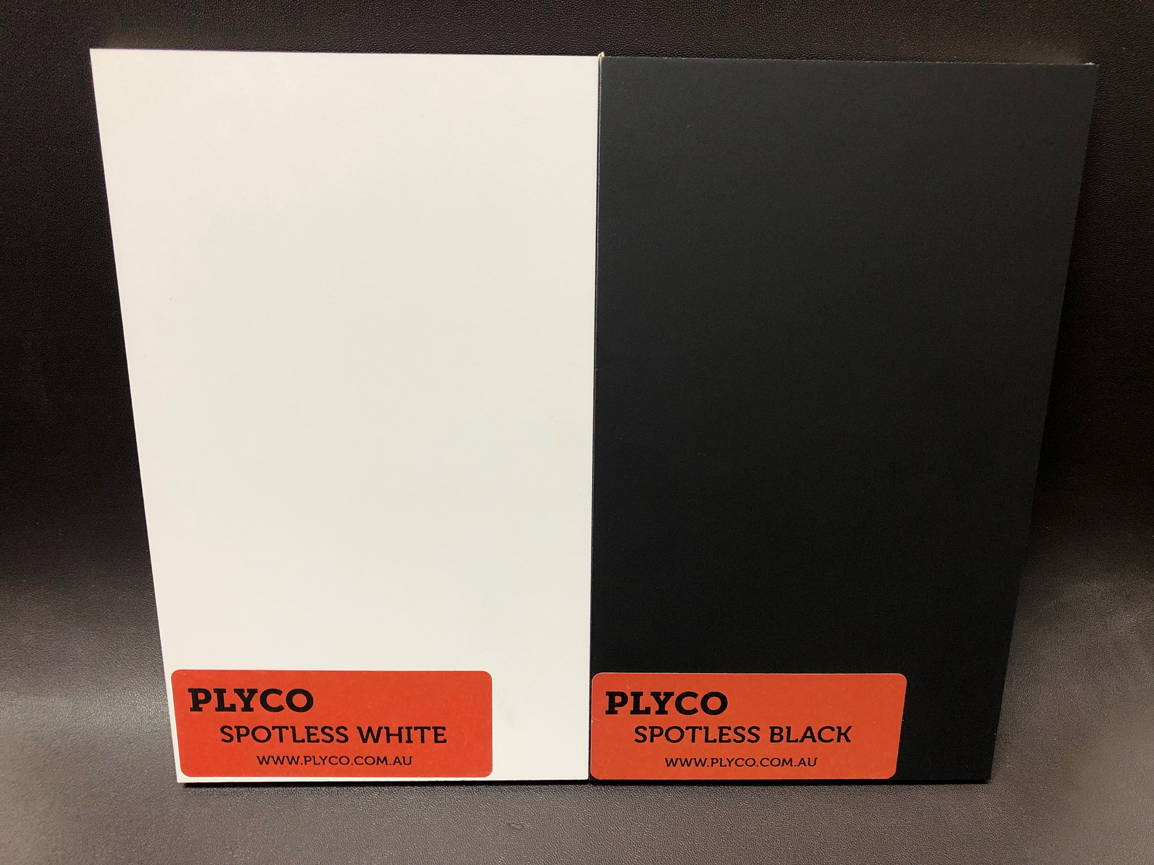 Spotless Laminate Black and White Laminated Plywood