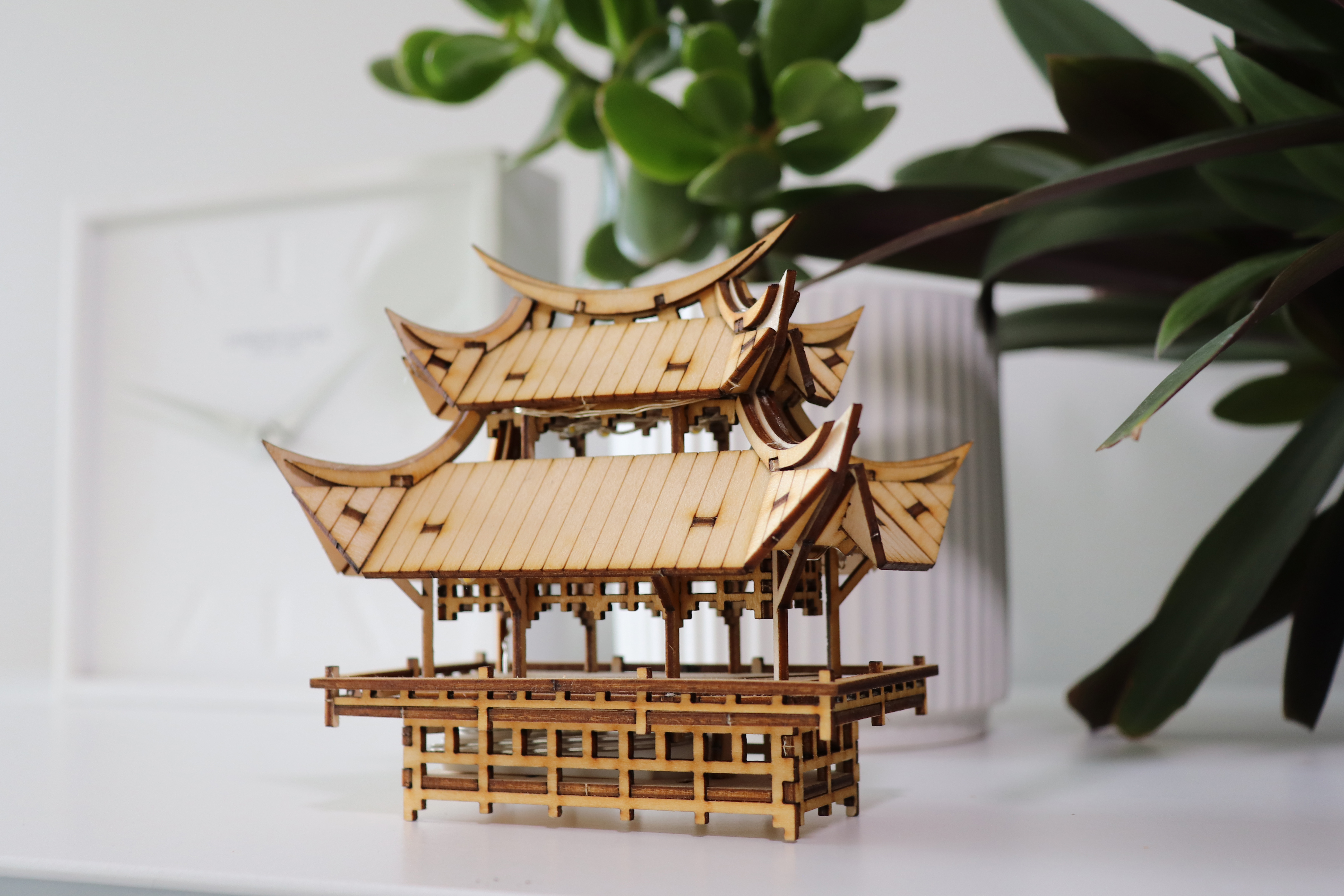 tiny treehouses diy model kit made from plyco laser plywood