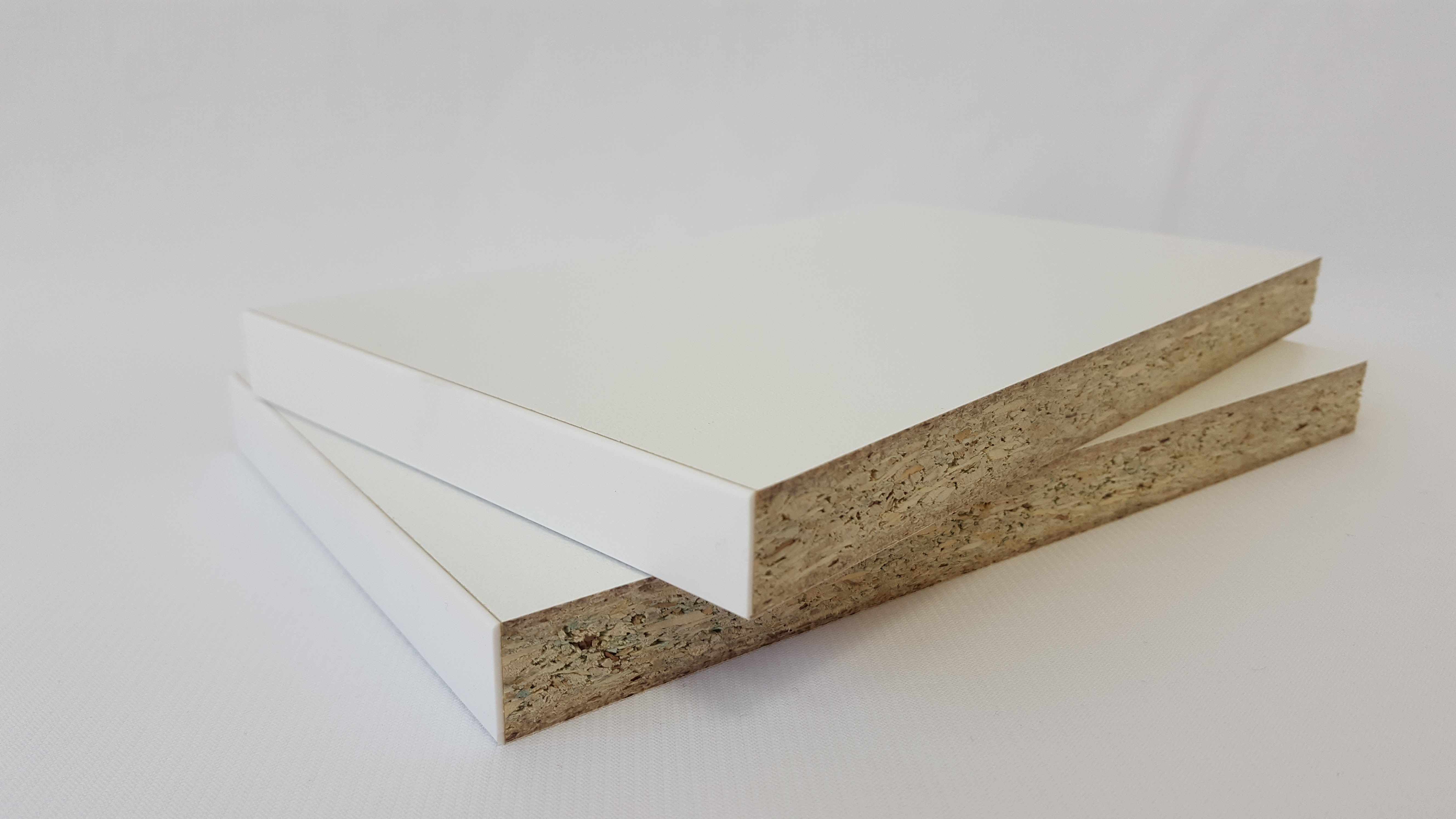 Plyco's White Melamine Particle Board