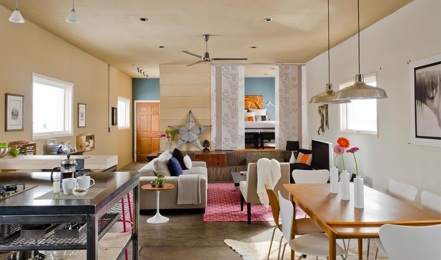Envi Design's beautiful painted plywood flooring