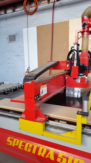 plyco's plywood cnc cutting machine