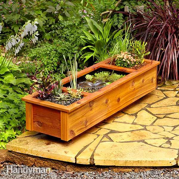 diy plywood garden planter