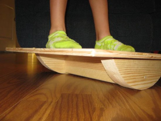 diy plywood balance board