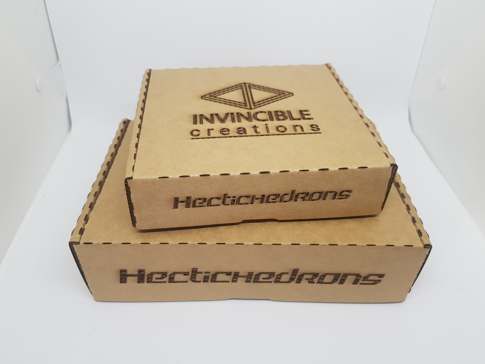 recycled packaging fro hectichedrons