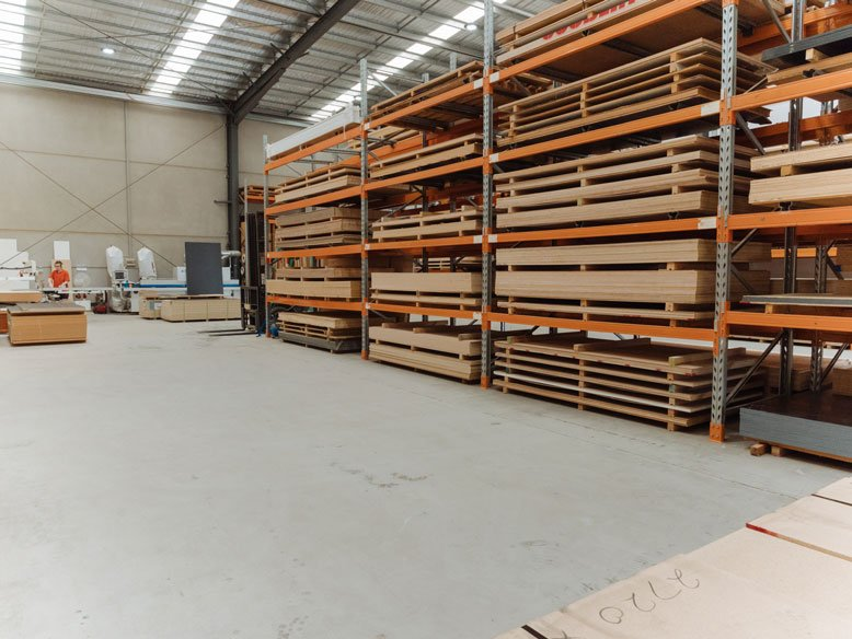 Inside Plywood Supplier Plyco's Mornington Store