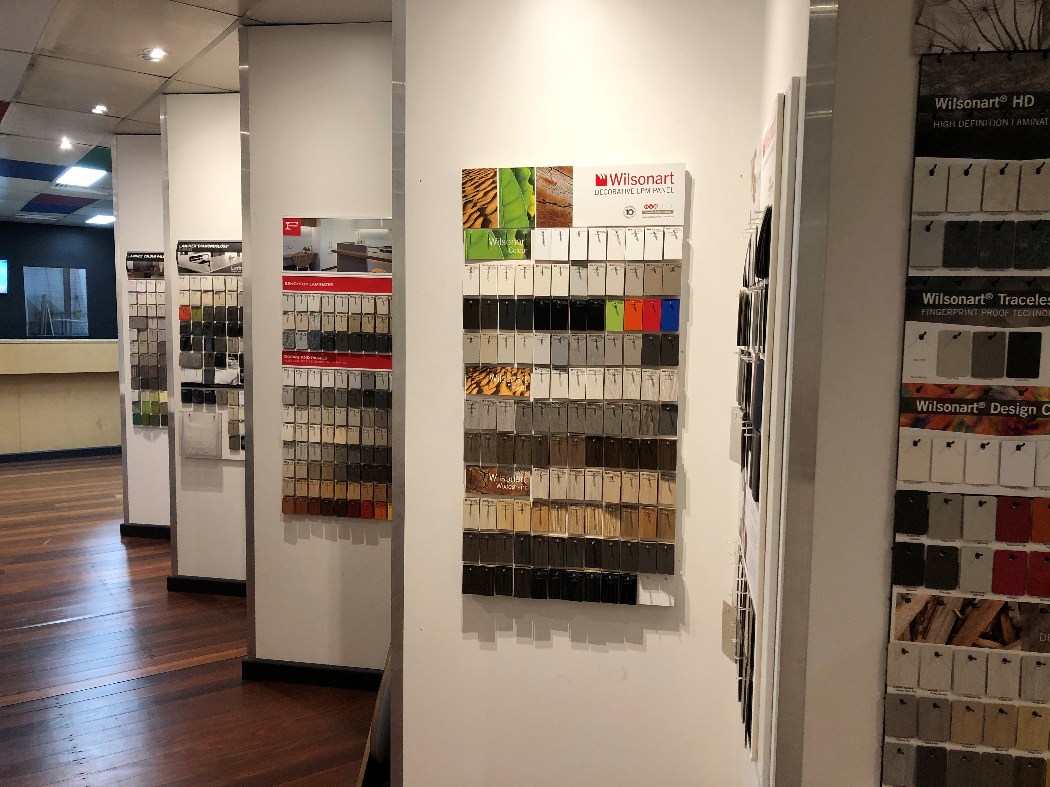 Melbourne plywood supplier Plyco's Fairfield showroom
