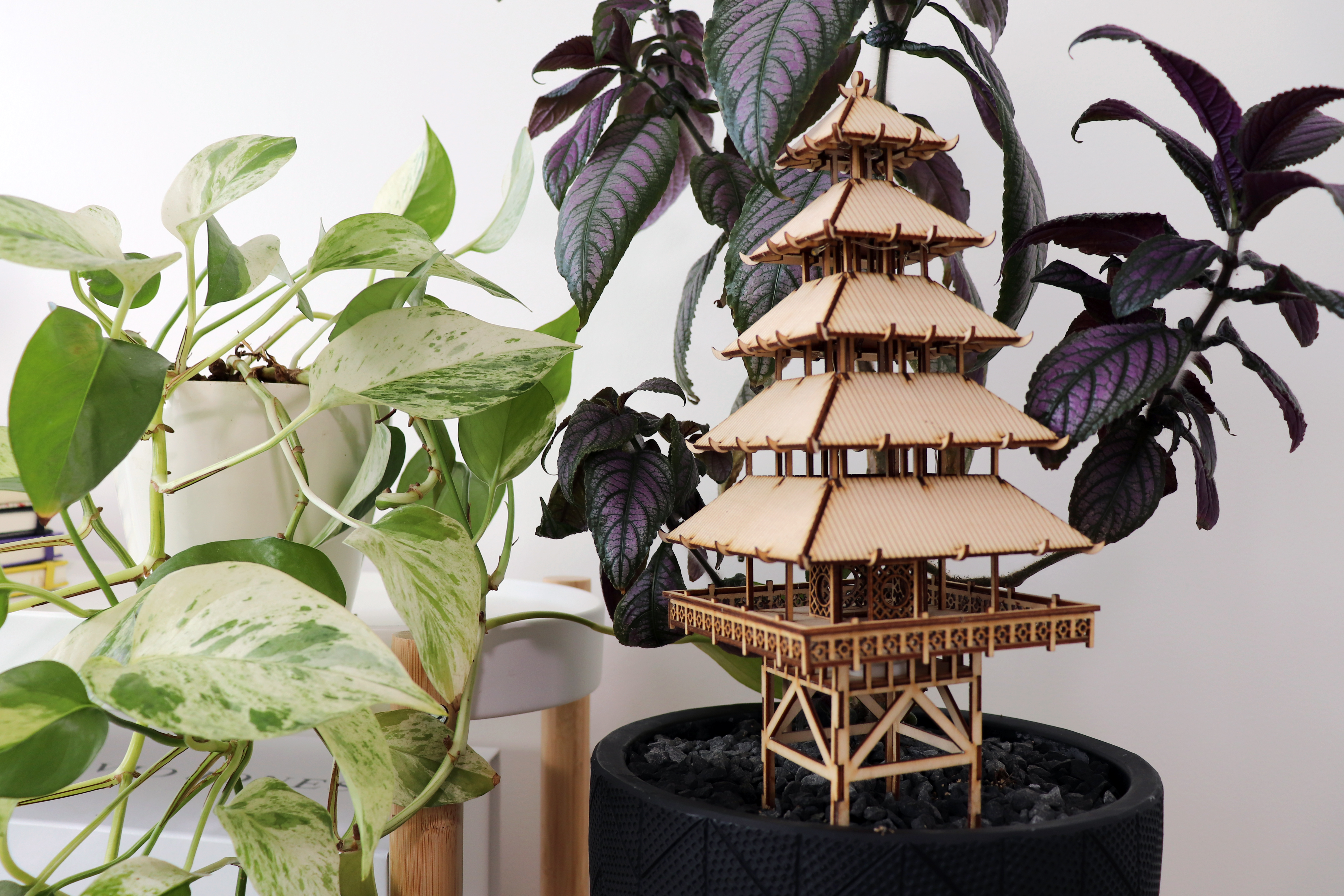 diy treehouse model kit made from plyco laser plywood